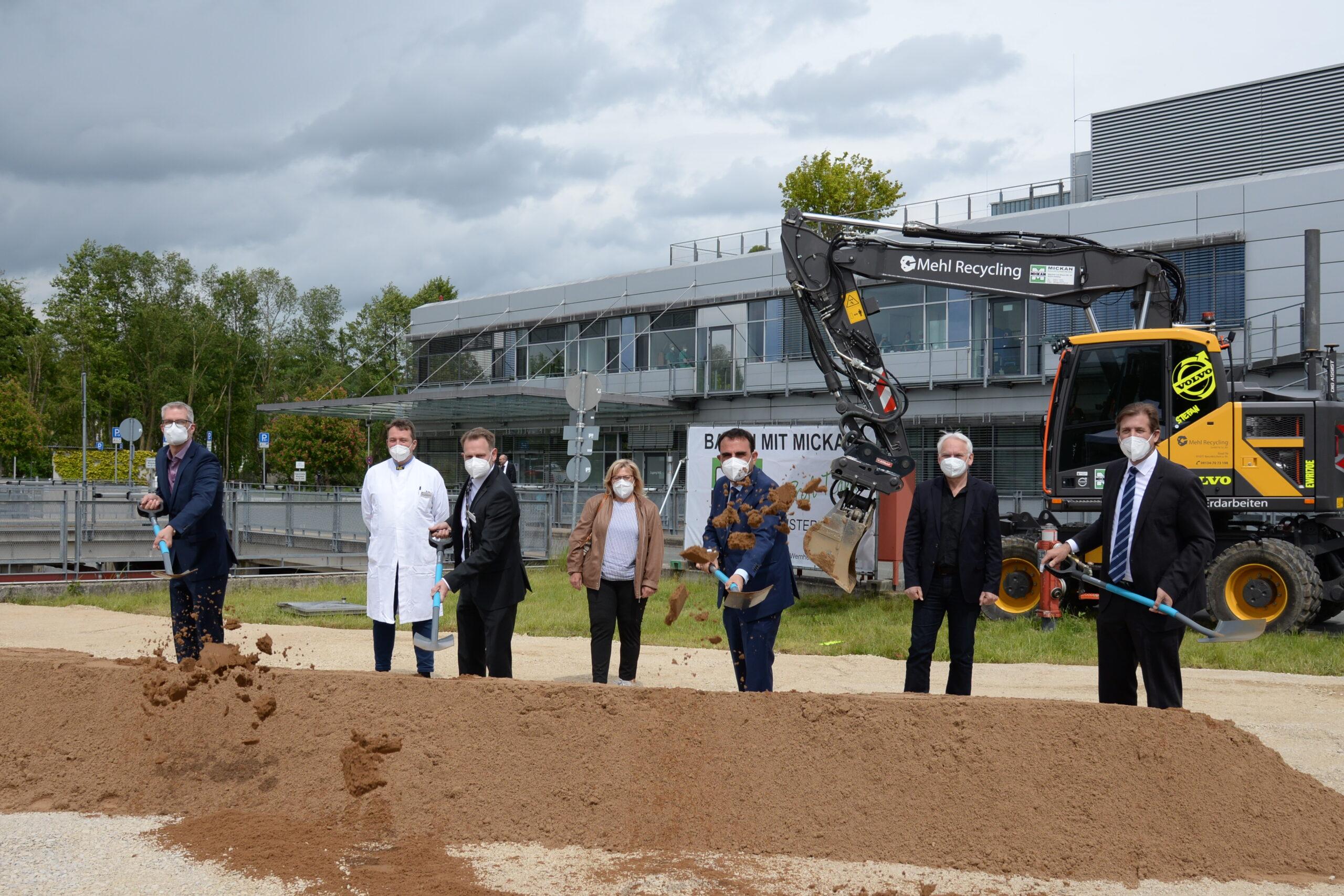 Spatenstich für Erweiterungsbau Klinikum Forchheim-Fränkische Schweiz
